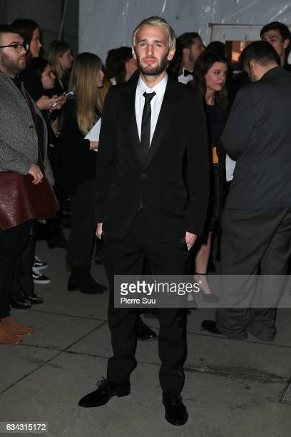 Hopper Penn attends the 19th annual amfAR's New York Gala to kick off NY Fashion Week at Cipriani Wall Street on February 8 2017 in New York City