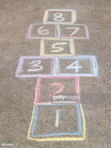 Hopscotch board