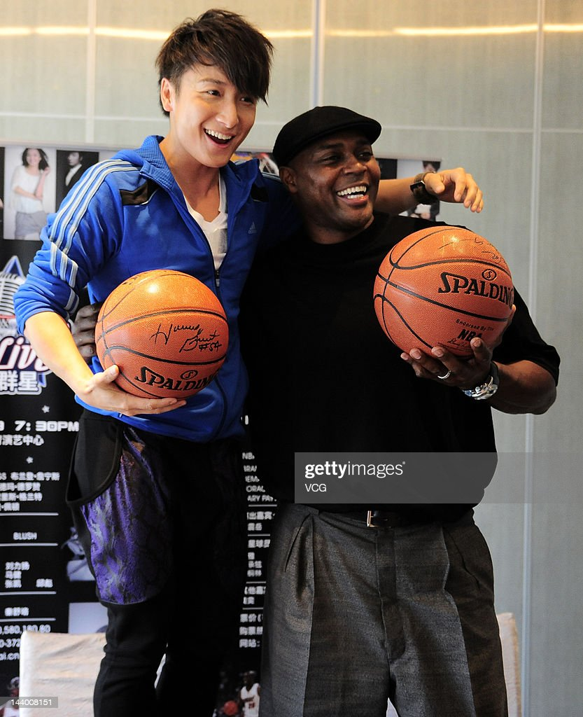 Horace Grant Visits Guangzhou s and