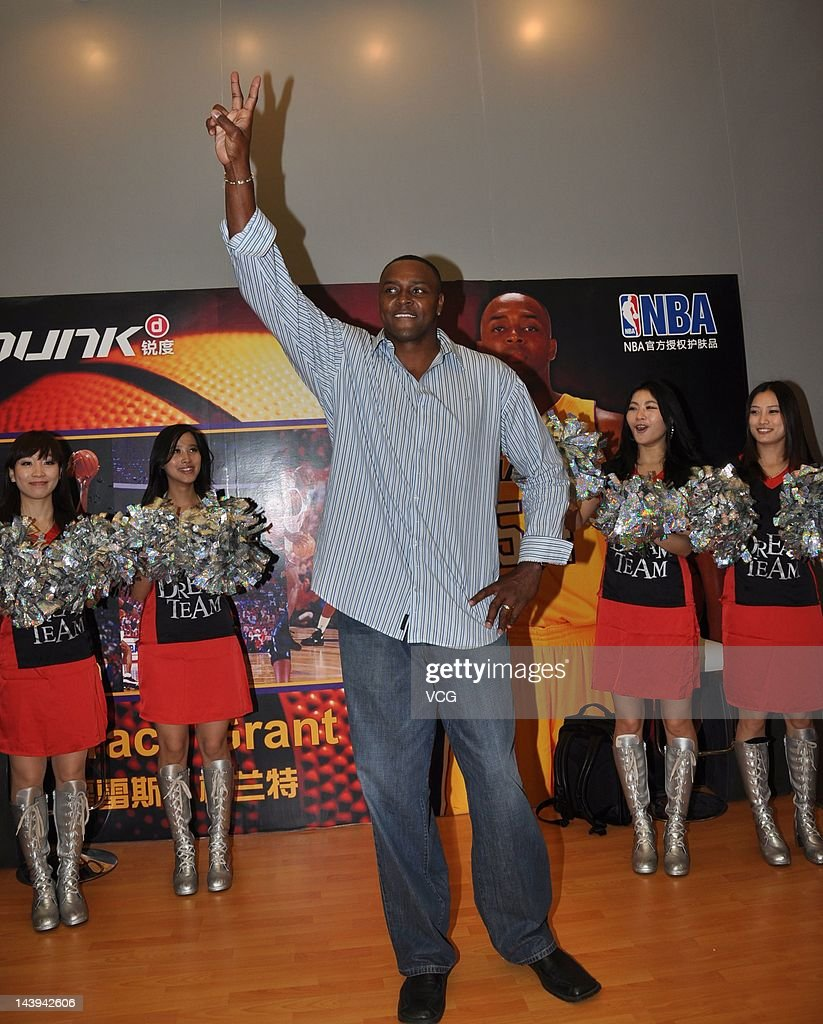Horace Grant Visits Shanghai s and