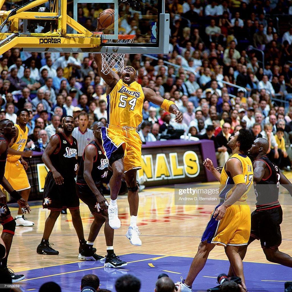 2001 NBA Finals Philadelphia 76ers vs Los Angeles Lakers
