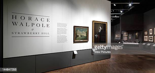 Horace Walpole Strawberry Hill Exhibition At The VALondon Sw7 United Kingdom Architect Block Architecture Horace Walpole Strawberry Hill Exhibition...