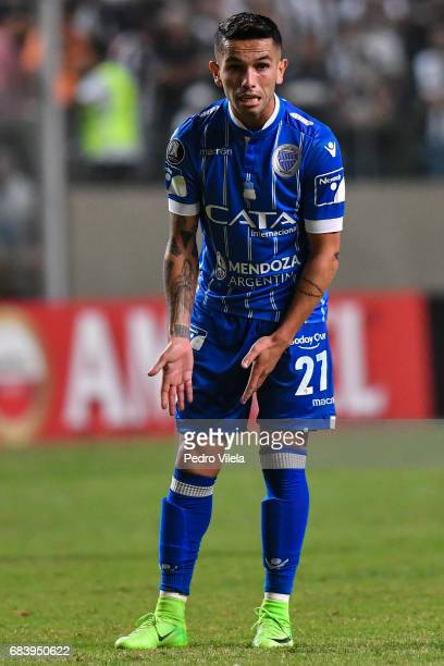 Horacio Carabajal of Godoy Cruz a match between Atletico MG and Godoy Cruz as part of Copa Bridgestone Libertadores 2017 at Independencia stadium on...