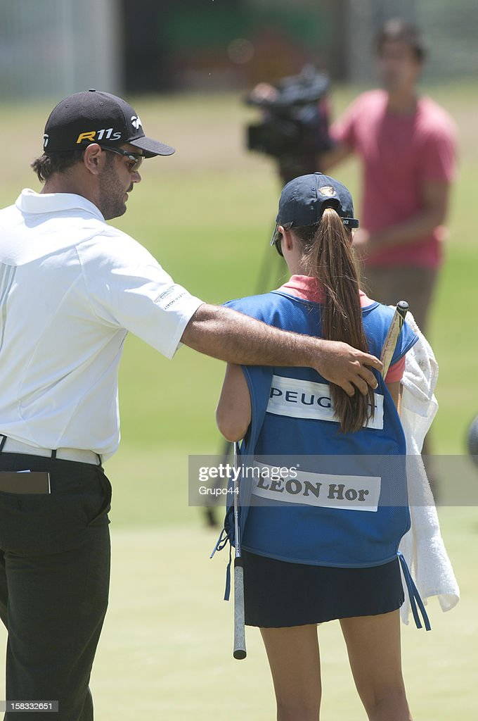 Horacio Leon of Chile looks on during the opening day of the 107 Visa Golf Open presented by Peugeot as part of the PGA Latin America at Nordelta Golf Club on December 13, 2012 in Buenos Aires, Argentina.