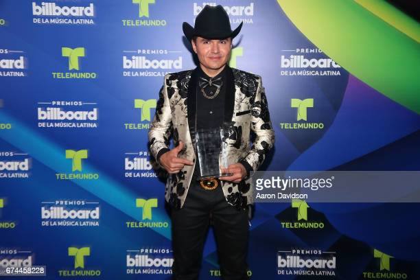 Horacio Palenci poses backstage during the Billboard Latin Music Awards at Watsco Center on April 27 2017 in Coral Gables Florida