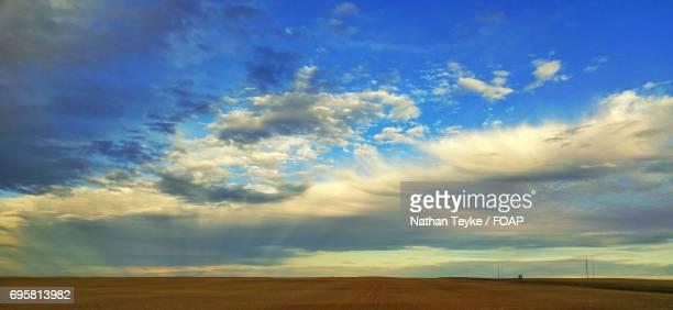 Horizon over land, Prairie