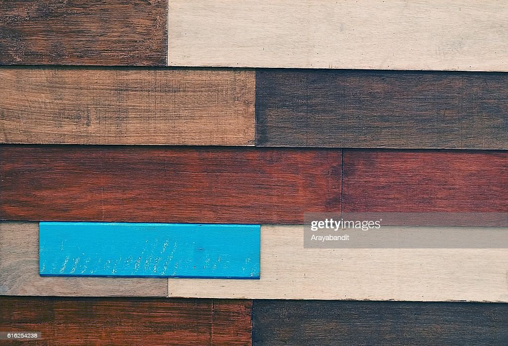 Horizontal Brown Texture of Wooden Grain Background : Stock Photo