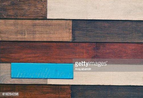 Horizontal Brown Texture of Wooden Grain Background : Stock Photo