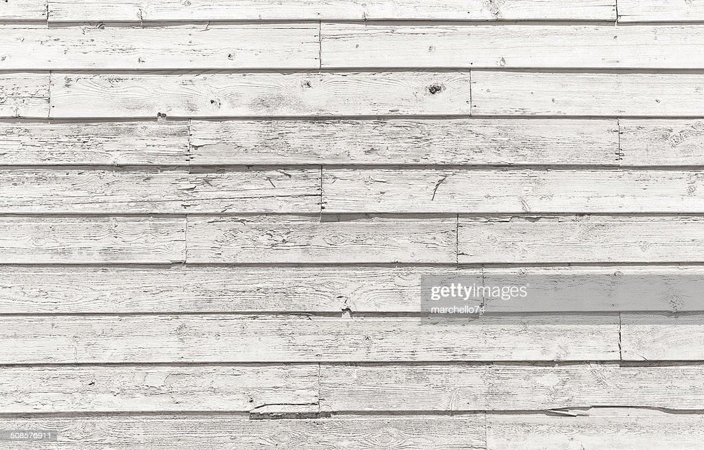 Horizontal wooden plank pattern : Stock Photo