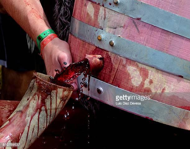 Horn wine