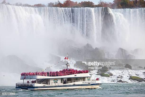 Hornblower Boat at Niagara Falls