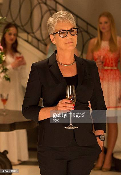 Horror icon Jamie Lee Curtis stars as Dean Munsch in the new comedy horror anthology SCREAM QUEENS premiering Septemeber 2015 on FOX