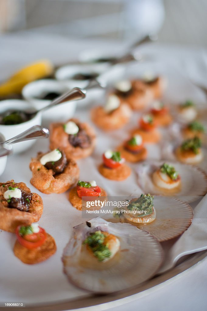 Hors d'oeuvres : Stock Photo
