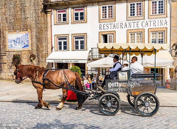 Horse and cart tours in Ponte de Lima, Portugal