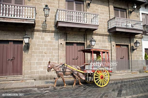 Horse Carriage in Intramuros
