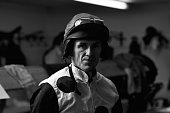 Horse racing jockey Tony McCoy is photographed on February 22 2013 in Esher England