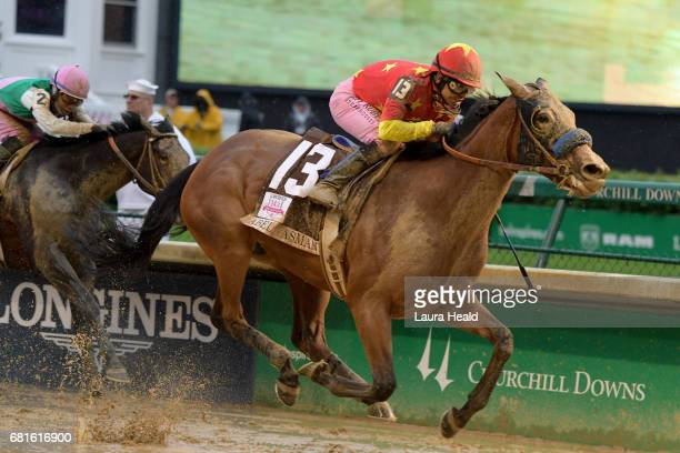 Kentucky Oaks Mike Smith in action aboard Abel Tasman at Churchill Downs Louisville KY CREDIT Laura Heald