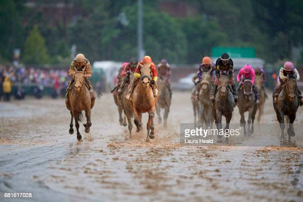 Kentucky Oaks Mike Smith in action aboard Abel Tasman during race at Churchill Downs Louisville KY CREDIT Laura Heald