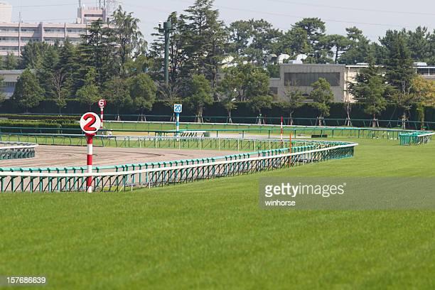 Piste de course de chevaux