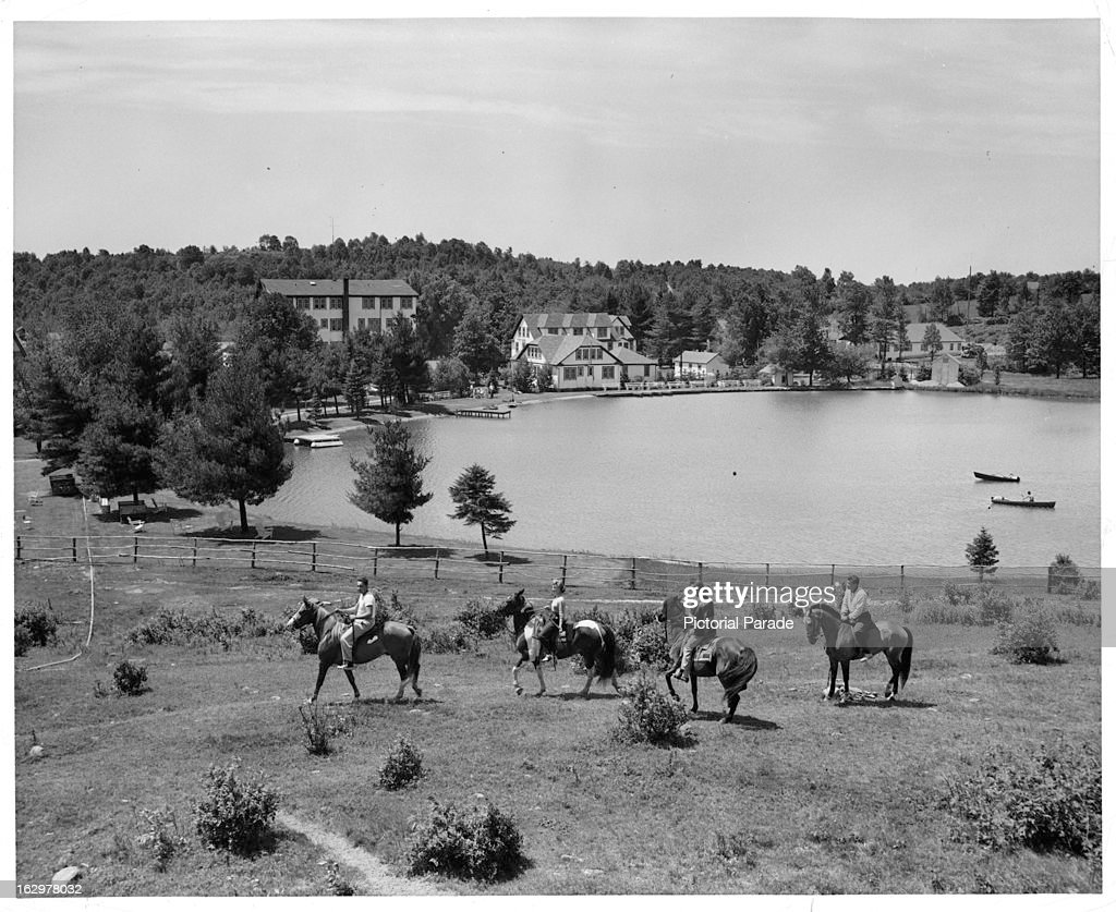Horse Riding in the Catskills New York 1955