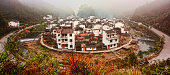 Horse shoe shaped village of Jujing
