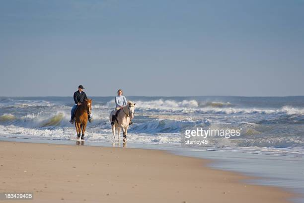 Horseback Riding, Island Beach, New Jersey