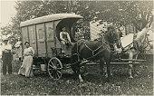 Horsedrawn Ice Wagon