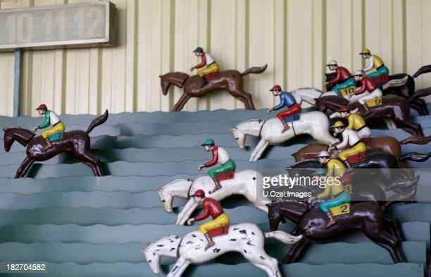 Horserace Toys in a Funfair