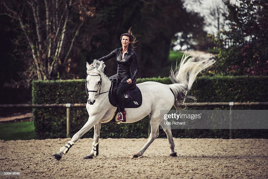 Horserider <a gi-track='captionPersonalityLinkClicked' href=/galleries/search?phrase=Penelope+Leprevost&family=editorial&specificpeople=5534219 ng-click='$event.stopPropagation()'>Penelope Leprevost</a> is photographed for Gala on November 25, 2015 in Paris, France.