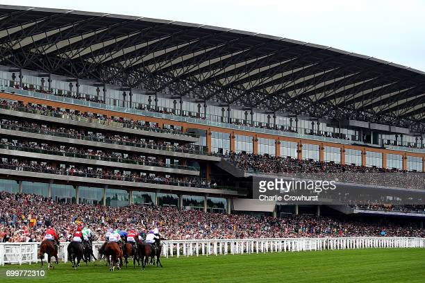 Horses run in The Norfolk Stakes on day 3 'Ladies Day' of Royal Ascot at Ascot Racecourse on June 22 2017 in Ascot England