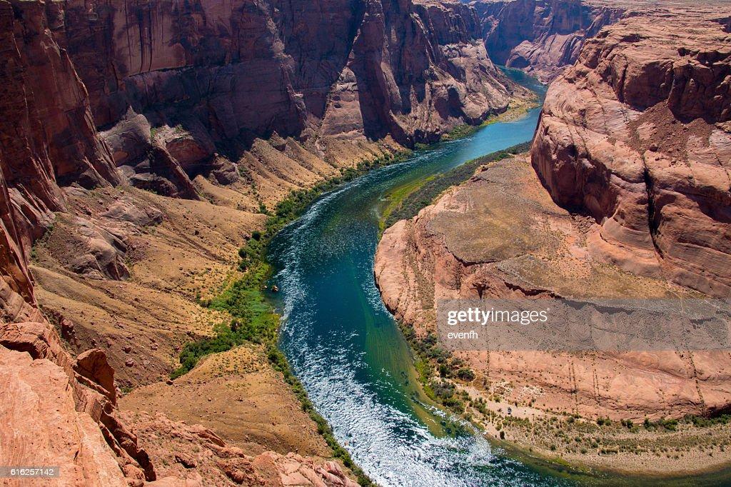 Horseshoe curva, Arizona  : Foto de stock
