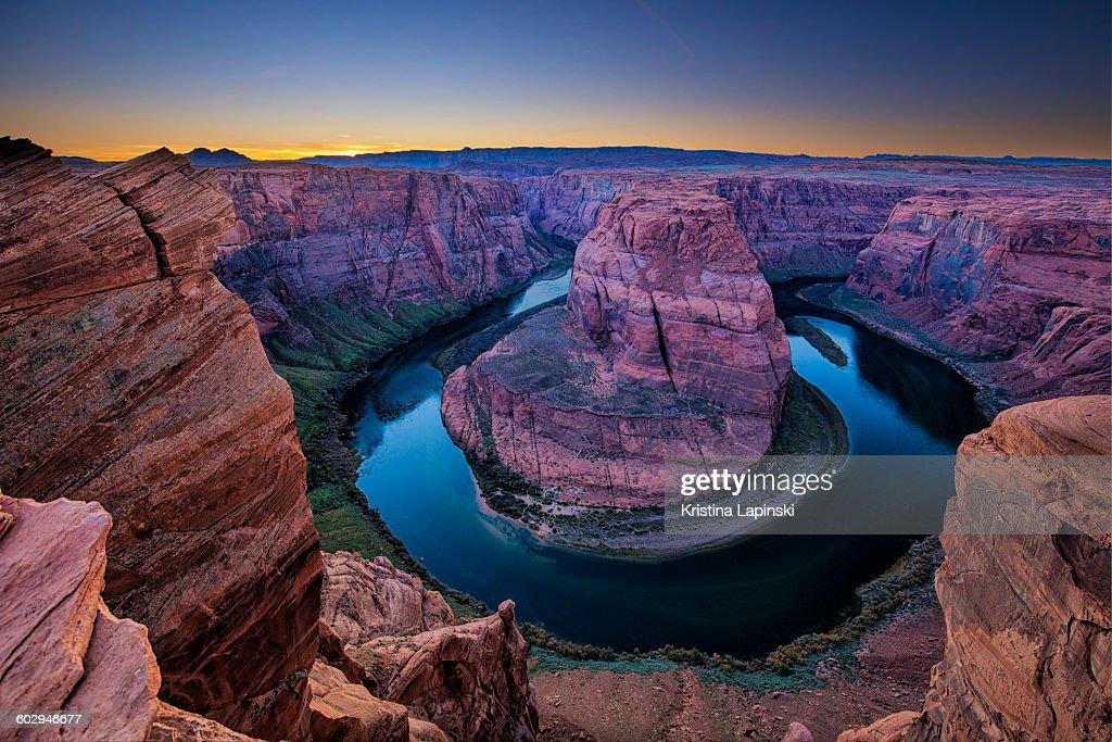 Horseshoe Bend, Colorado River, Page, Arizona