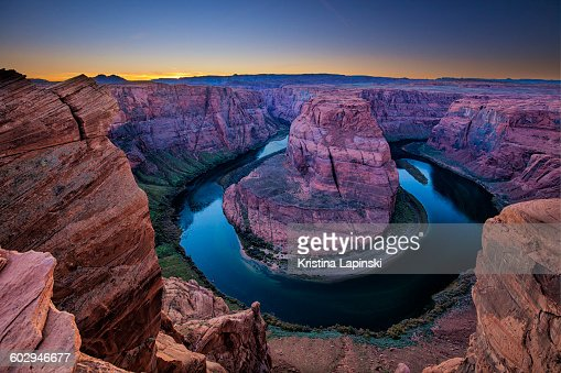 Horseshoe Bend, Colorado River, Page, Arizona