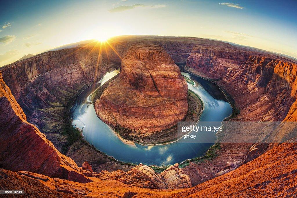 Horseshoe bend, Grand Canyon, USA