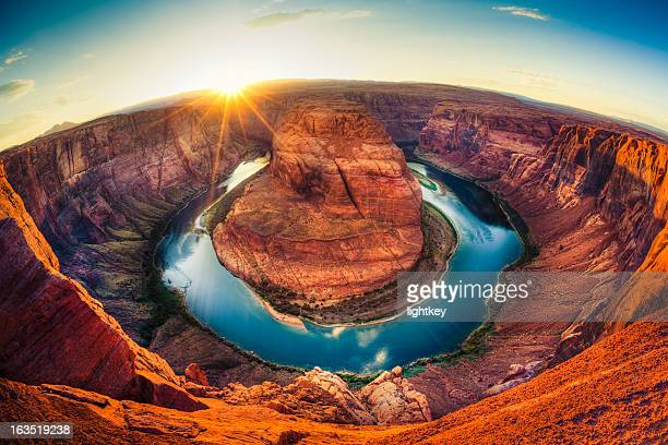 Horseshoe bend, Grand Canyon, États-Unis