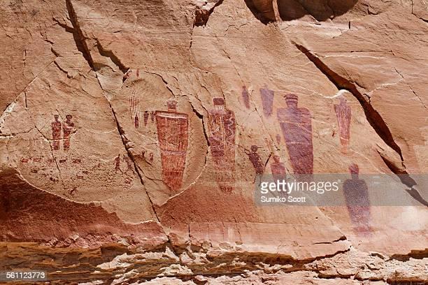 Horseshoe Canyon Pictographs