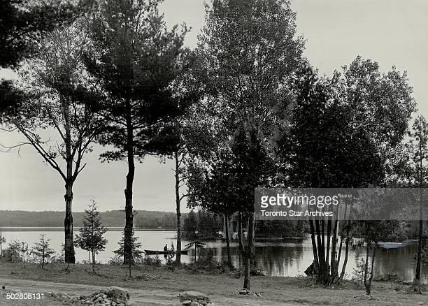 Horseshoe Lake from north shore