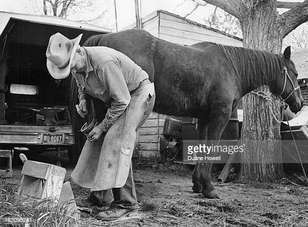 APR 18 1979 APR 21 1979 APR 22 1979 Horseshoeing Gordon C Crick