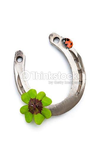 Lancio dei ferri di cavallo e trifoglio con quattro foglie - Immagini di quadrifoglio a quattro foglie ...
