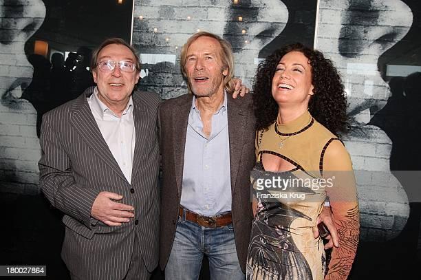 Horst Janson Jaecki Schwarz Und Barbara Wussow Beim 35Jährigen Firmenjubiläum Von 'Ziegler Film' Im Restaurant 'Hugos' In Berlin