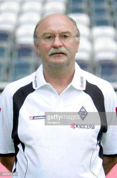 Horst Koeppel poses during the team presentation of Borussia Monchengladbach for the Bundesliga season 2005 2006 on July 7 2005 in Monchengladbach...
