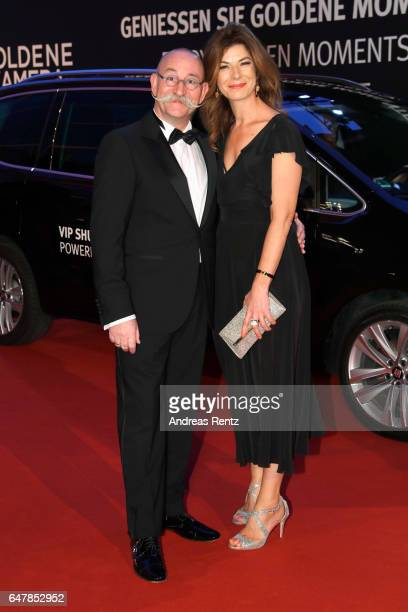 Horst Lichter and Nada Lichter arrive for the Goldene Kamera on March 4 2017 in Hamburg Germany