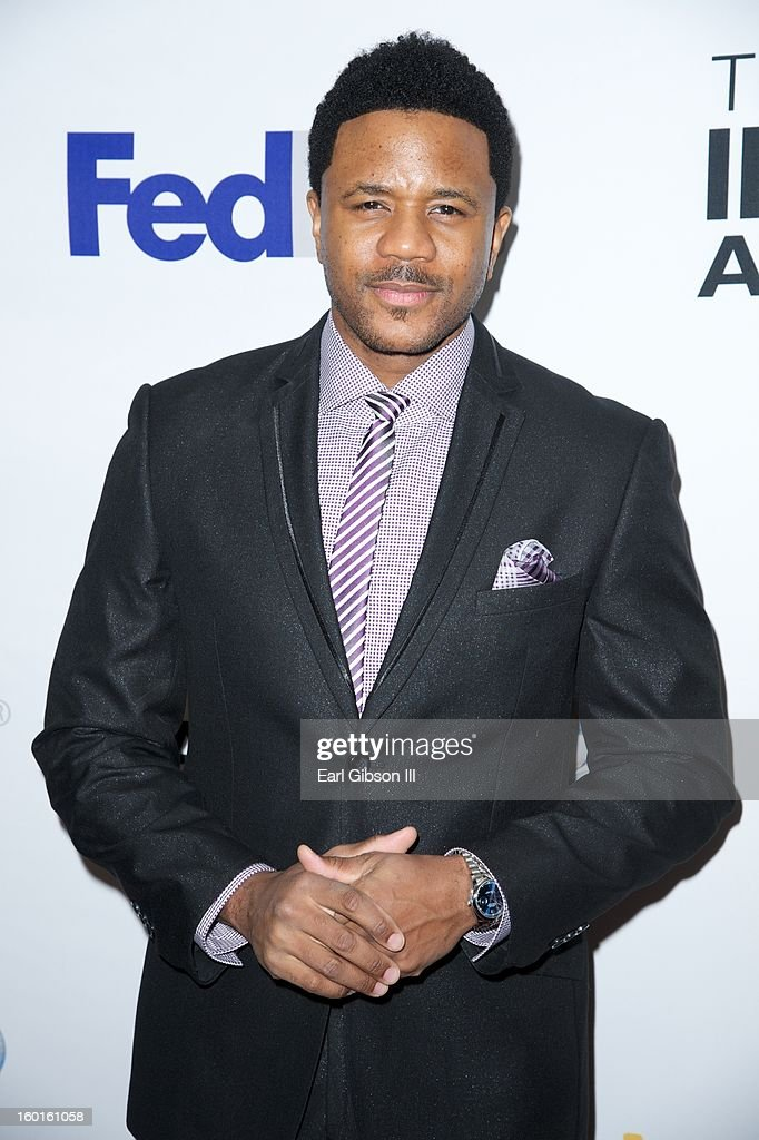 <a gi-track='captionPersonalityLinkClicked' href=/galleries/search?phrase=Hosea+Chanchez&family=editorial&specificpeople=879950 ng-click='$event.stopPropagation()'>Hosea Chanchez</a> attends the NAACP Image Awards Nominee's Luncheon at Montage Beverly Hills on January 26, 2013 in Beverly Hills, California.