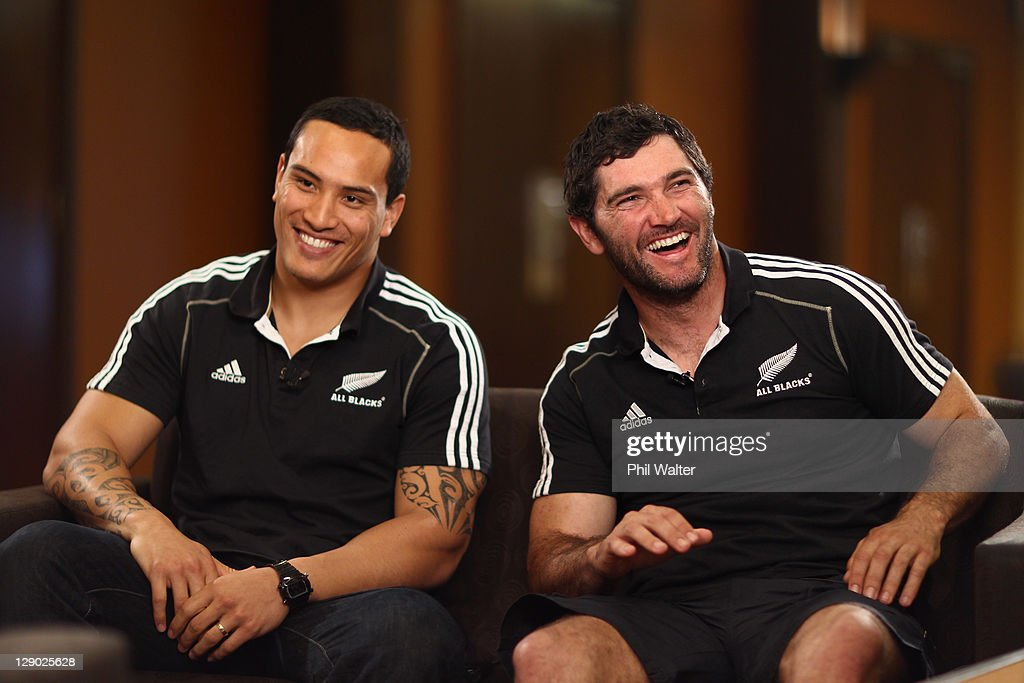 New Zealand IRB RWC 2011 Media Session