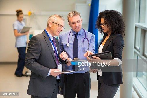 hospital administrator team