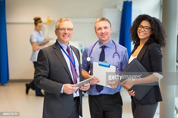 hospital administrator-team