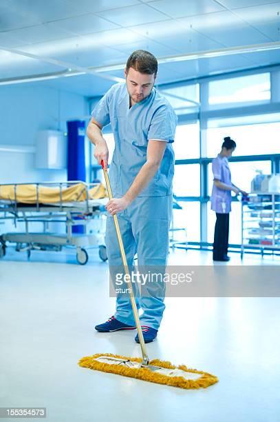 hospital janitor