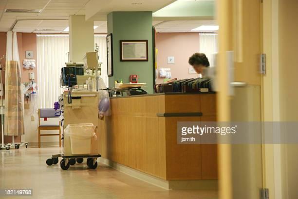 Krankenhaus Krankenschwester Station