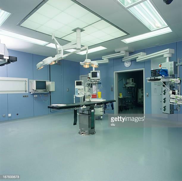 Hôpital Salle d'opération avec des lampes