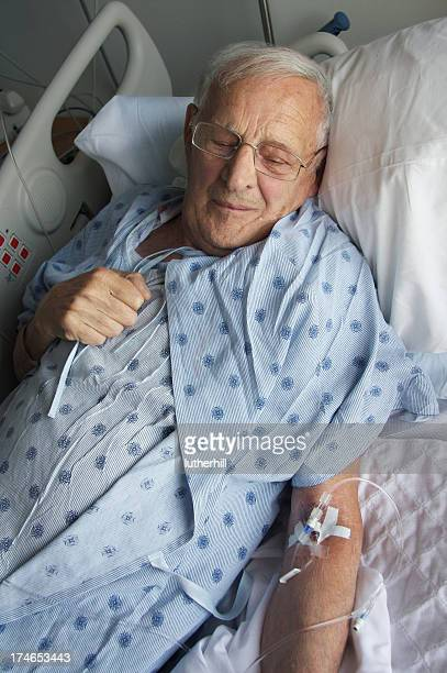 hospital stay for elderly man